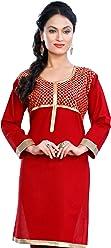 Unifiedclothes Women Fashion Casual Indian Kurti Tunic Kurta Top Shirt Dress ECCO22C