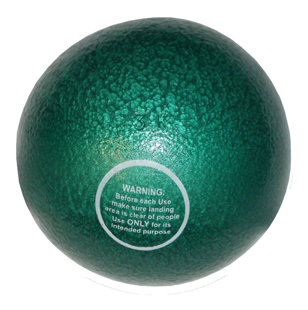 Bola de peso de hierro fundido - Entrenamiento - 3 kg green gras
