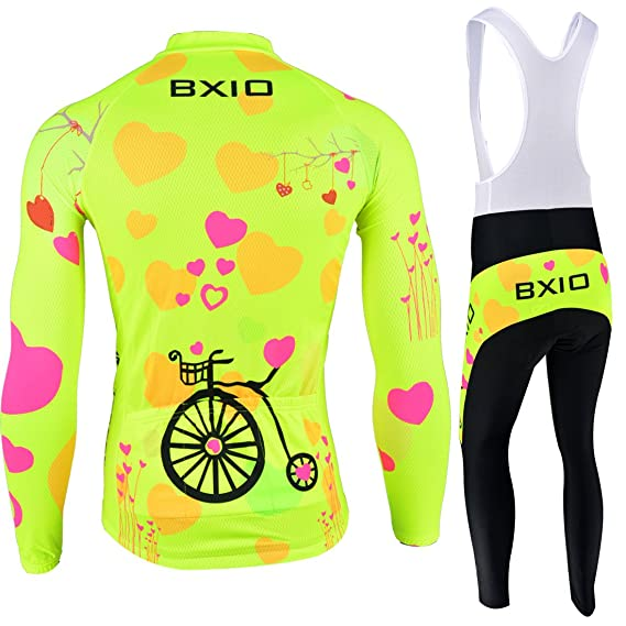 Amazon.com: Pro Winter Thermal Fleece Woman Cycling Jerseys Sets MTB Wear Bike Wear Clothing Ciclismo Long Sleeve Bicycle 125: Clothing