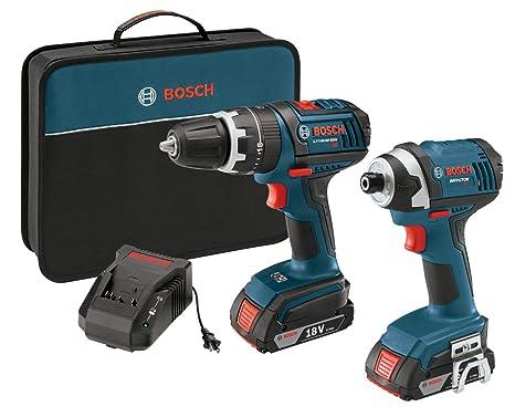 Amazon.com: Bosch clpk244 – 181 18-volt 2-tool Combo Kit de ...