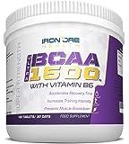 BCAA 1500 - Comprimés de BCAA Ultra Strength- 1500mg par comprimé - Les Meilleurs Compléments d'Acides Aminés Ramifiés pour Faire Passer Votre Entraînement Au Niveau Supérieur - 3 Mois d'Utilisation