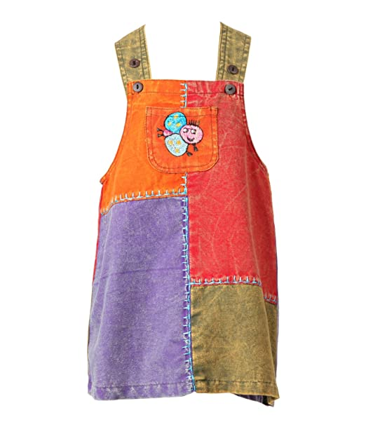 The Hippy Clothing Co Kids Harem Dungarees