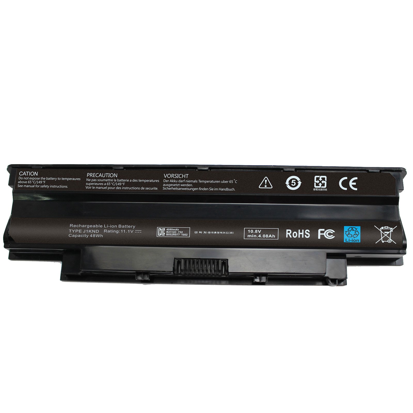 BATURU J1KND Laptop Battery for Dell Inspiron 3420 3520 N4110 N4010 N5010 N5030 N5050 N7010 N7110 M5030 M5010 vostro 3555 2520 4T7JN 9T48V 312-0234 - 12 Months Warranty