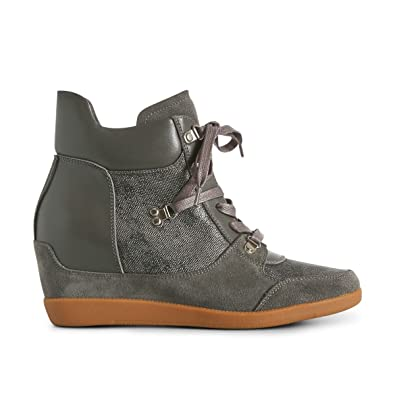 bb1d96a222e Shoe the Bear Women's Emmy Hike Hi-Top Trainers: Amazon.co.uk: Shoes & Bags