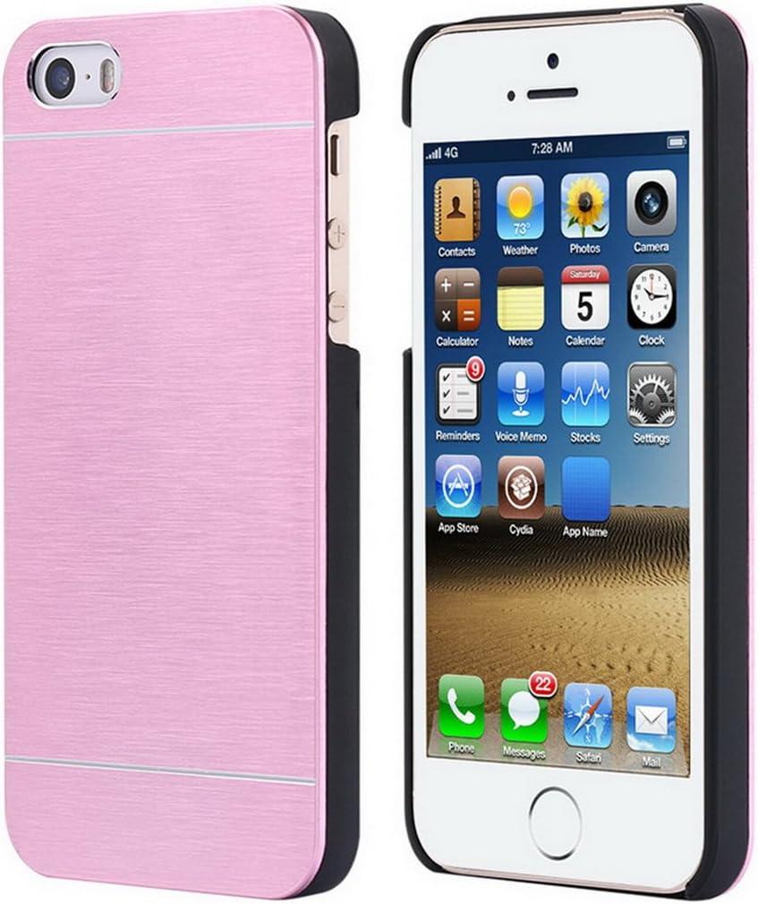 "Luxury Aluminum Metal Hard Plastic Frame Armor Case iPhone 5 5S SE Cooling Shock Proof Slim 4.0"""