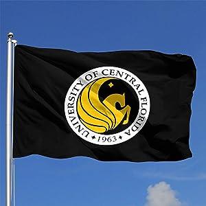 VinMea University of Central Florida 3x5 Ft Flag - Outdoor Flag House Banner - Premium Flag with Brass Grommets