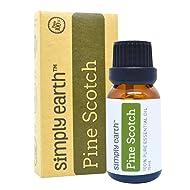 Simply Earth Pine Essential Oil 15 ml, 100% Pure Therapeutic Grade