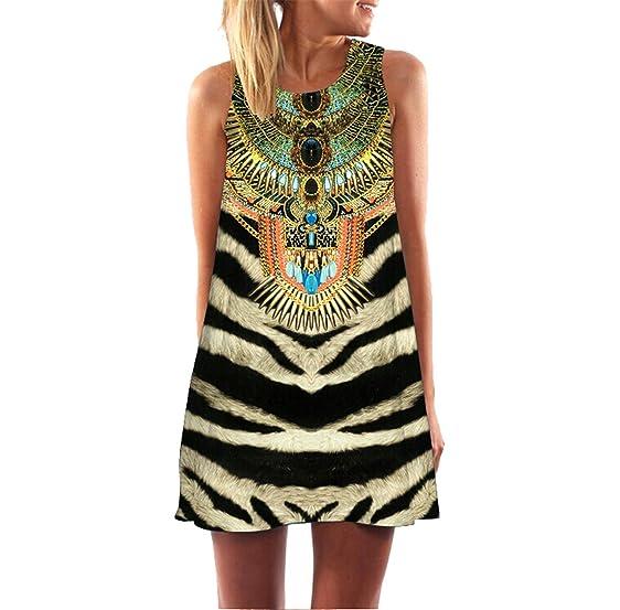 Summer A-line Casual Vintage Bohemian Sexy es Above Knee O-neck Vestidos Robe