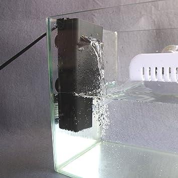 Filtro sumergible de agua baja para tanque de acuario y tortuga,Opción de enchufe de