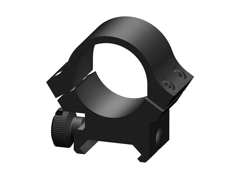 Redfield 4hole Medium aluminum Rings, unisex, 47330, Black Matte