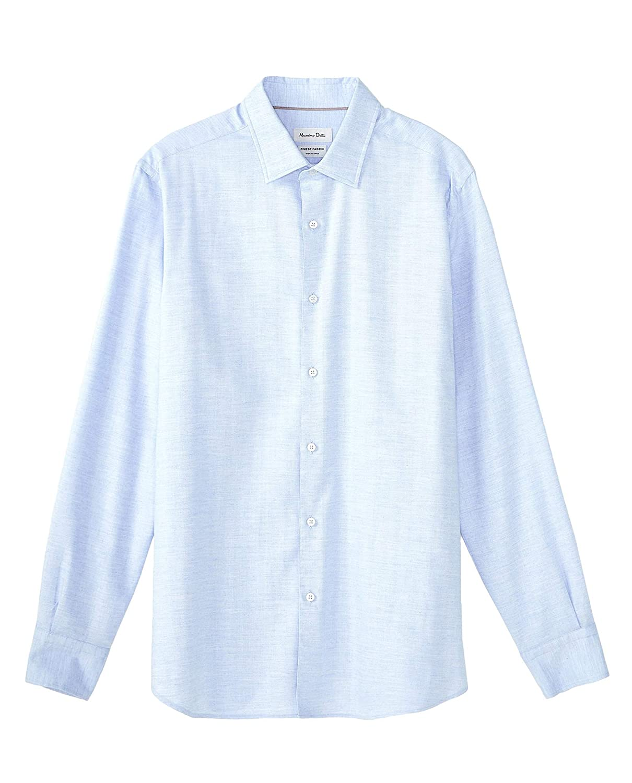 MASSIMO DUTTI 0154/116/403 - Camisa de algodón para Hombre, diseño ...