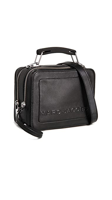 5b586281bf6 Amazon.com: Marc Jacobs Women's The Box 20 Bag, Black, One Size: Shoes