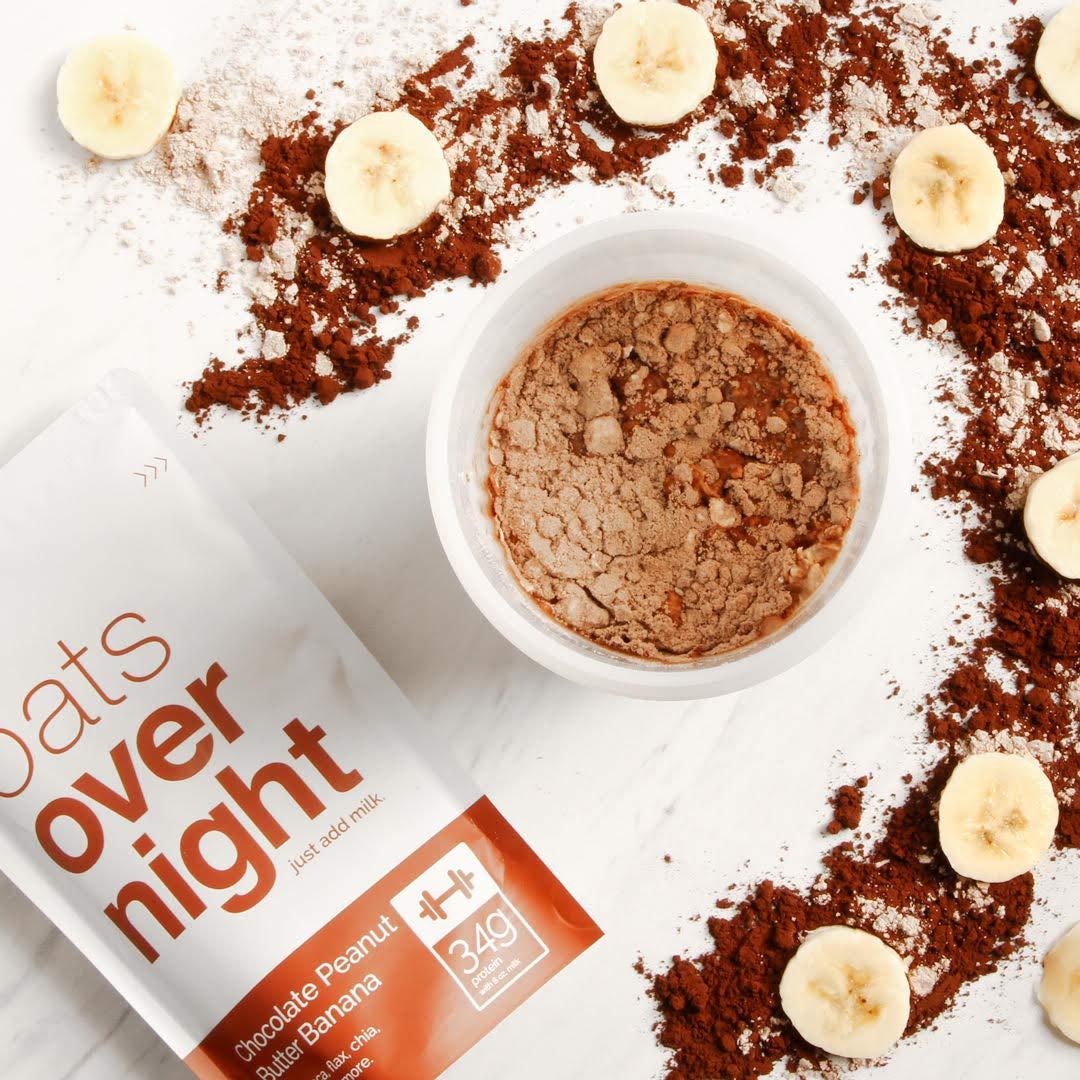Oats Overnight Con BlenderBottle (3 onzas por paquete)-alta en proteínas,baja en azúcar,sin gluten,3 Unidades Variedad con BlenderBottle
