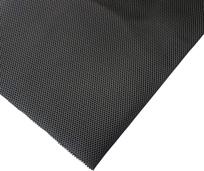 1.7 * 0.5 m//67 * 20 in Stereo Speaker Fabric Grill Cloth Dustproof Protective Cover for Large Sound Box Black Stage Sound Box KTV Box Speaker Mesh Cloth