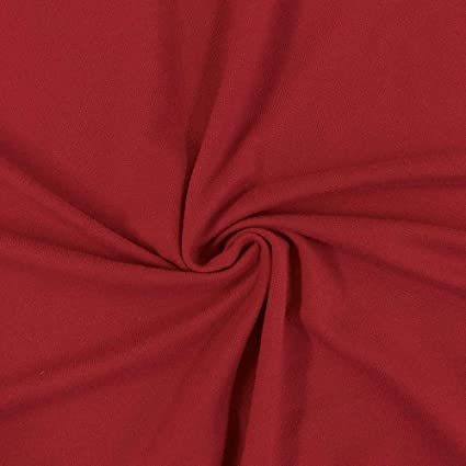 88a9c02df44 Image Unavailable. Image not available for. Color: Pappermint Store Red DTY  Double-Sided Brushed Fabric 4 Way Stretch ...
