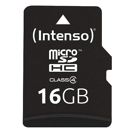 Intenso Micro SDHC - Tarjeta Micro SDHC de 16 GB (Adaptador de ...