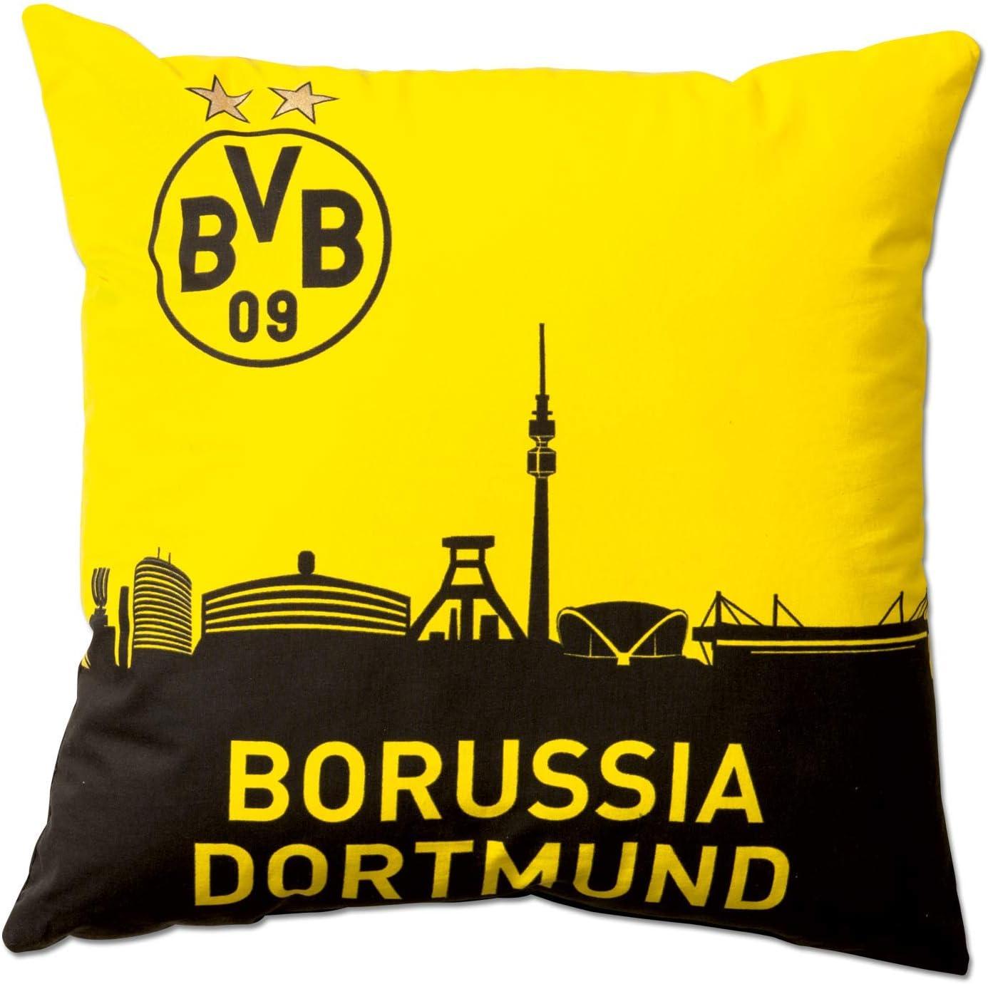 Borussia Dortmund BVB 09 BVB-Kissen mit Skyline 40 x 40cm