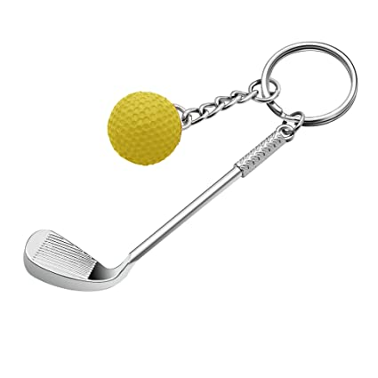 KENYG - Llavero de Bola de Golf de Metal con diseño ...