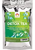 Shifa Detox Tea With Turmeric: Detoxifying Formula with Herbs, Phytonutrients and Antioxidants for Gut Cleansing and to Reduce Bloating — 1.5 oz.