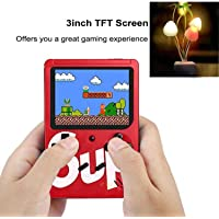 Smars SUP 400 in 1 Games Retro Game Box Console with Fancy Moshroom LED Light