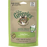 Greenies Feline Dental Cat Treat Catnip Flavour, 71g Bag