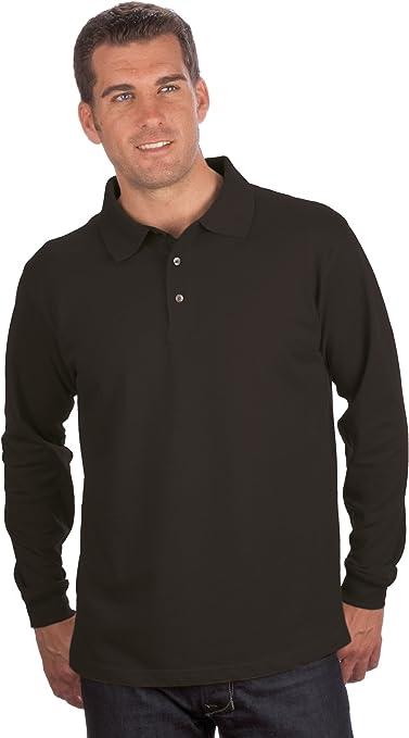 Camiseta de manga larga de Quality, talla S a 8XL negro M: Amazon ...