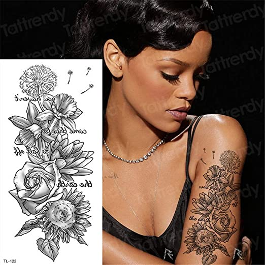 3pcs Tatuajes y Arte Corporal laminadores celebridades Tatuaje del ...