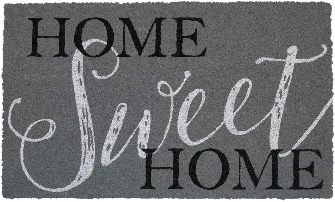 Briarwood Lane Home Sweet Home Coir Doormat Everyday Natural Fiber Outdoor 18 x 30
