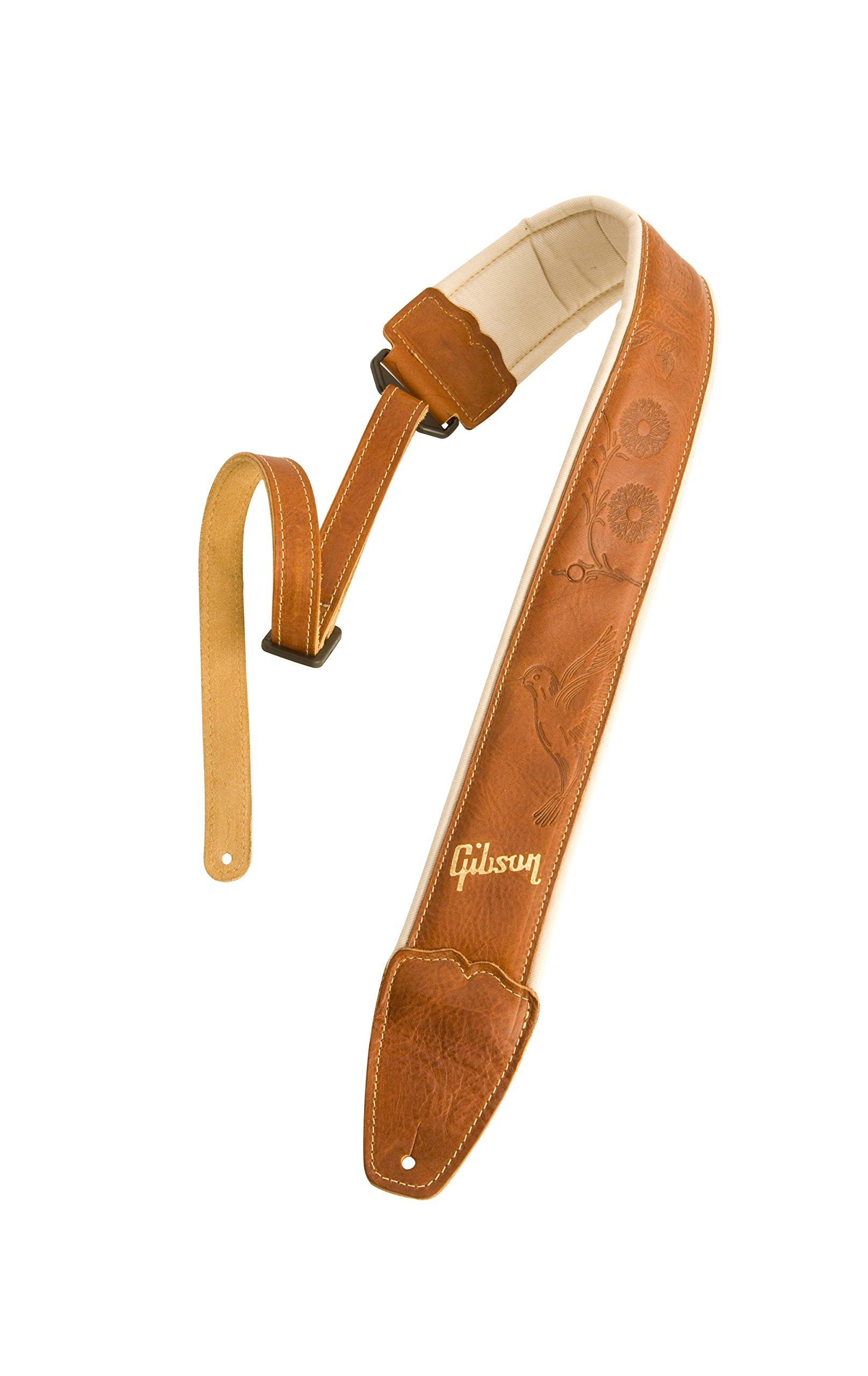 Gibson Gear ASAC-TAN Guitar Strap