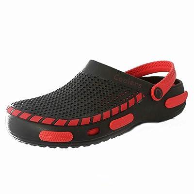 5ff7c6d9b9d Unisexe à Enfiler Pointure Chaussures de plage Douche Mules