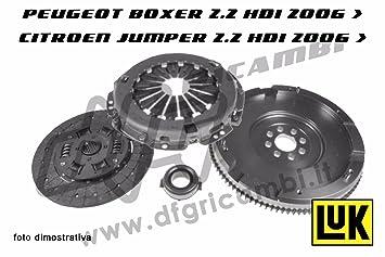 Kit Embrague Volante Luk kv0020 - 415037210 - 626303200 - 0532.q8 - 2051.n8: Amazon.es: Coche y moto