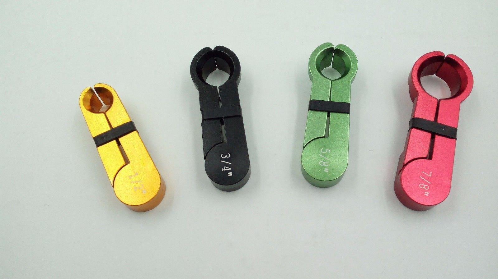 4pc A/C Fuel Line Disconnect Tool Set 1/2'' ,5/8'',3/4'', 7/8''