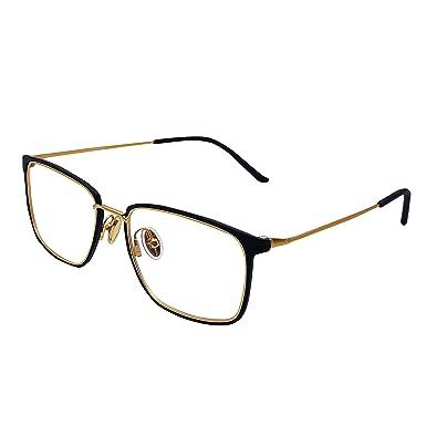 0d638ec7878 XYAS Titanium Glasses For Man And Women Unisex Super Light Retro Geek  Fashion Cool Eyeglass Clear Lens TR Front Best Value  Amazon.co.uk  Clothing