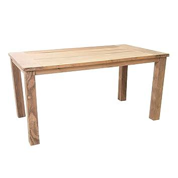 Amazonde Ribelli Teaktisch Sobura Holztisch Gartentisch Aus