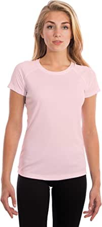 Vapor Apparel Women's UPF 50+ UV/Sun Protection Short Sleeve T-Shirt