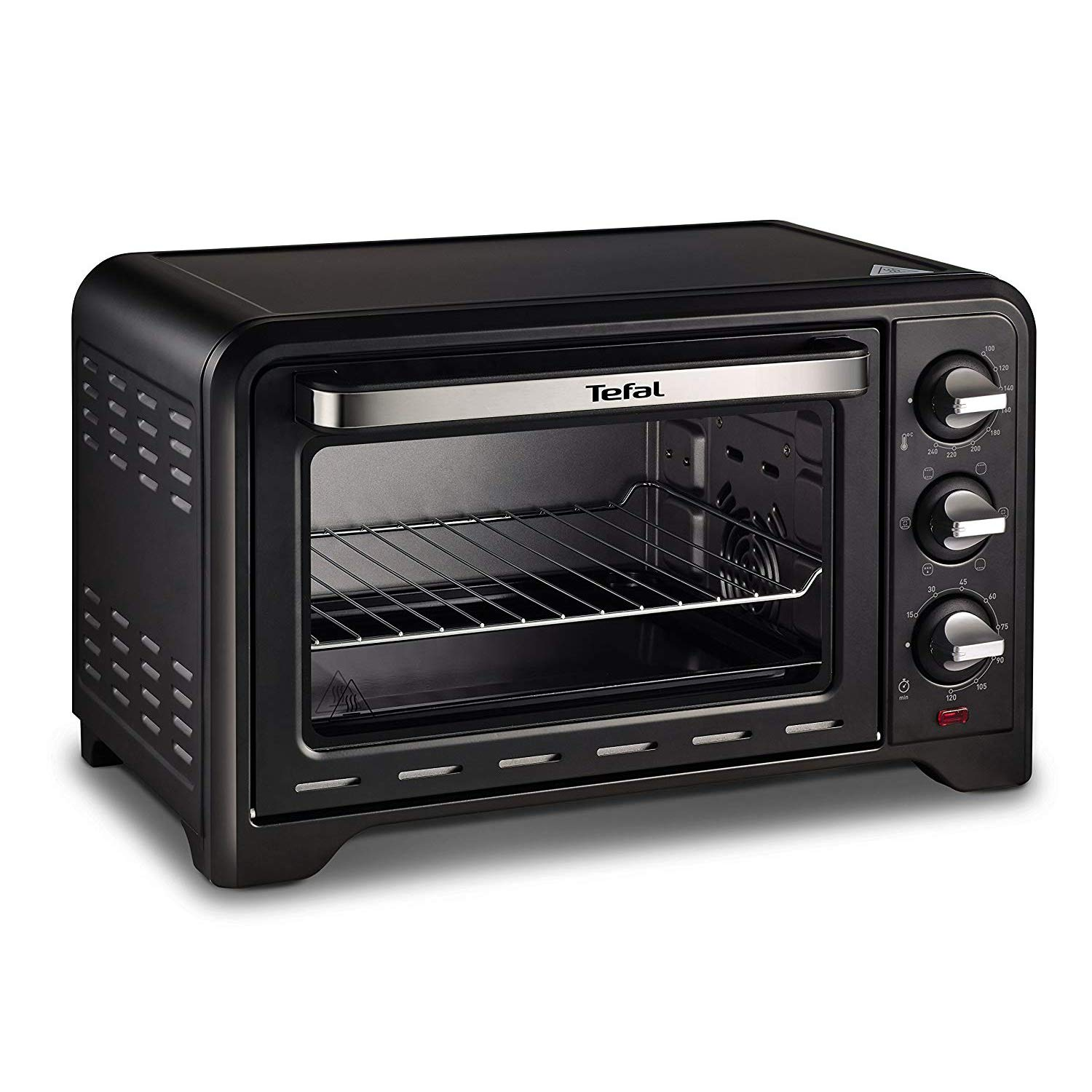 Tefal OF4448 Optimo Electric Toaster Oven 20 Quart Convection Heating 240℃ 120 Min Timer 1380W