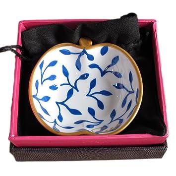Regalo tazón pintado a mano (en los dos lados Musa, caja regalo