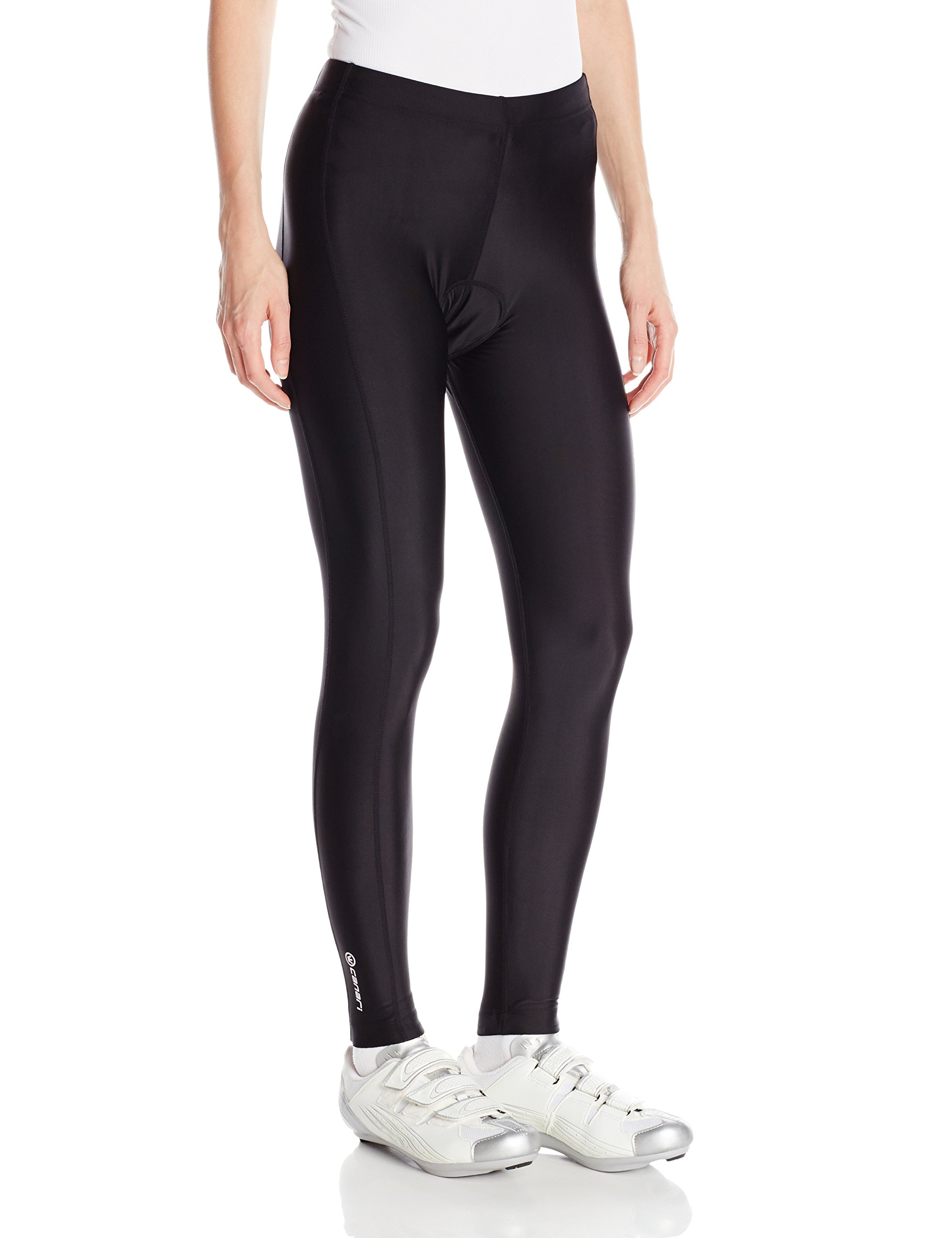 Canari Cyclewear Women's Pro Elite Tight Cycling Compression Tights, Small, Black