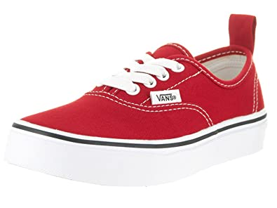 2b0b78f21b12 Image Unavailable. Image not available for. Color  Vans Kids Authentic  Elastic (Elastic Lace) Skate Shoe ...