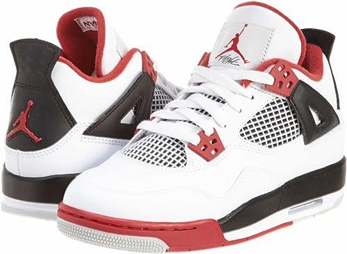 Nike Air Jordan 4 Retro (GS) niños Zapatillas de Baloncesto 408452 ...