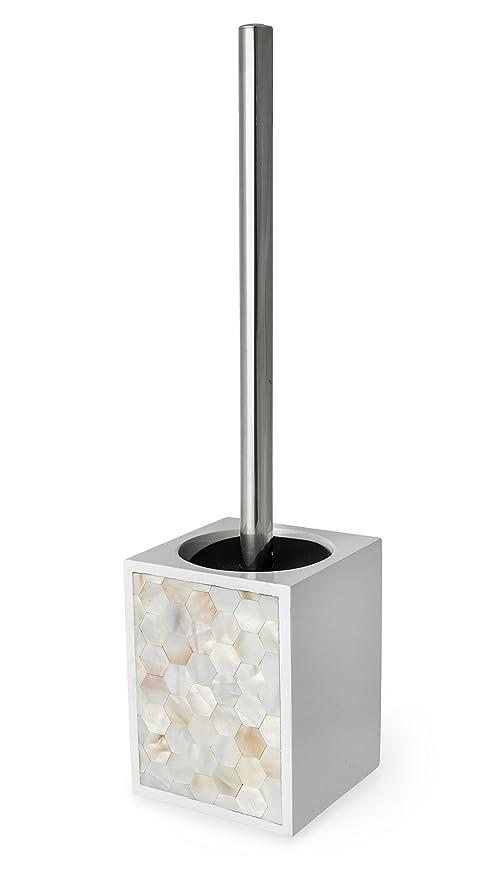 """Cerámica baño accesorios Serie """"Pearl Blanco Dispensador de jabón, jabonera, vaso"""