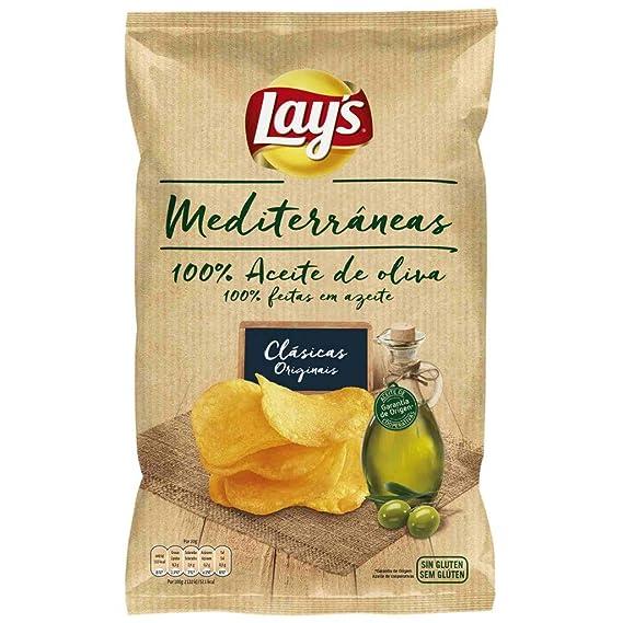 Matutano - Patatas lays mediterráneas bolsa 42 g: Amazon.es ...