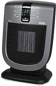 DeLonghi Safeheat 1500-Watt Digital Ceramic Heater with Remote Control and Eco Energy Setting