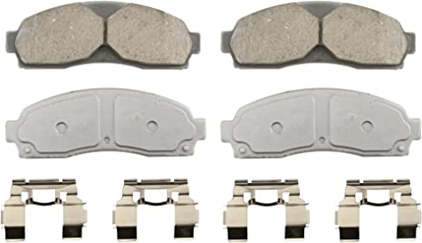 Disc Brake Pad Set-ThermoQuiet Disc Brake Pad Rear Wagner QC881