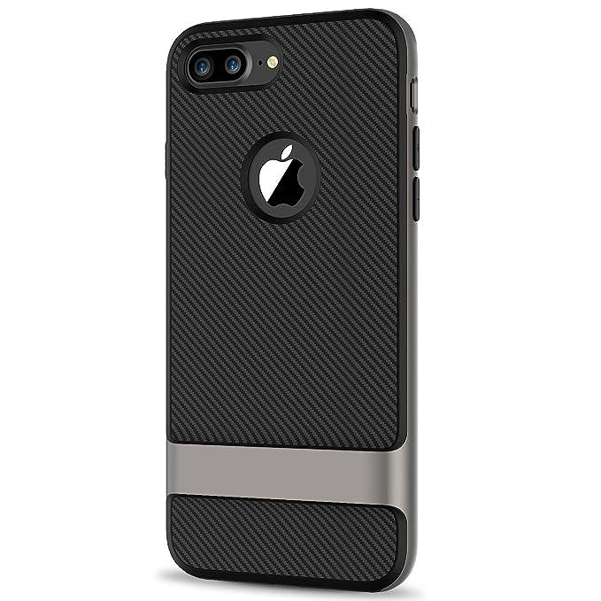 8 opinioni per JETech Cover per iPhone 7 Plus, 2-Strato Custodia con Assorbimento Degli Urti e