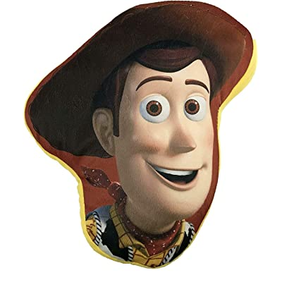 Toy Story 4 Woody Shaped Cushion Pillow: Toys & Games