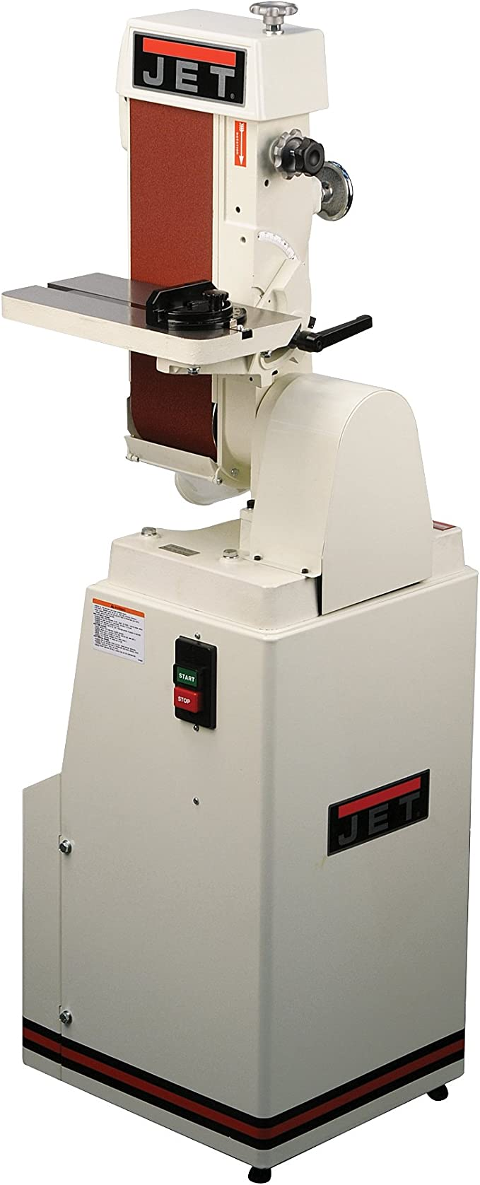 JET J-4300A 6-Inch by 48-Inch Single Phase Industrial Belt Machine