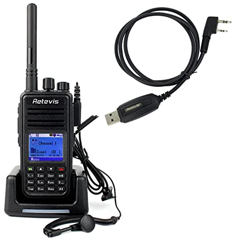 Retevis RT3 DMR Digital 2 Way Radio 1000CH UHF: Amazon in