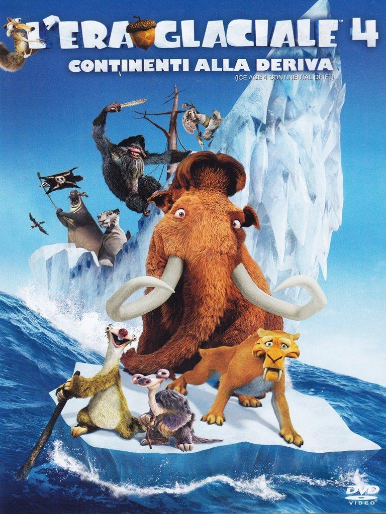 L Era Glaciale 4 Continenti Alla Deriva Dvd Singolo Italia Amazon Es Vari Vari Vari Cine Y Series Tv
