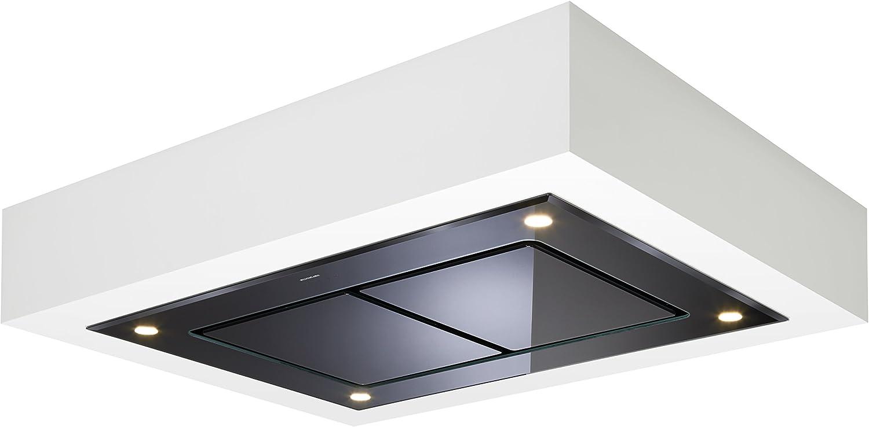 Dusk T3 100 cm negro techo de cristal extractor de cocina con motor externo 1150 M3/H: Amazon.es: Grandes electrodomésticos
